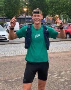 The Gax 100 miles. Löpartävling på Österlen i Skåne