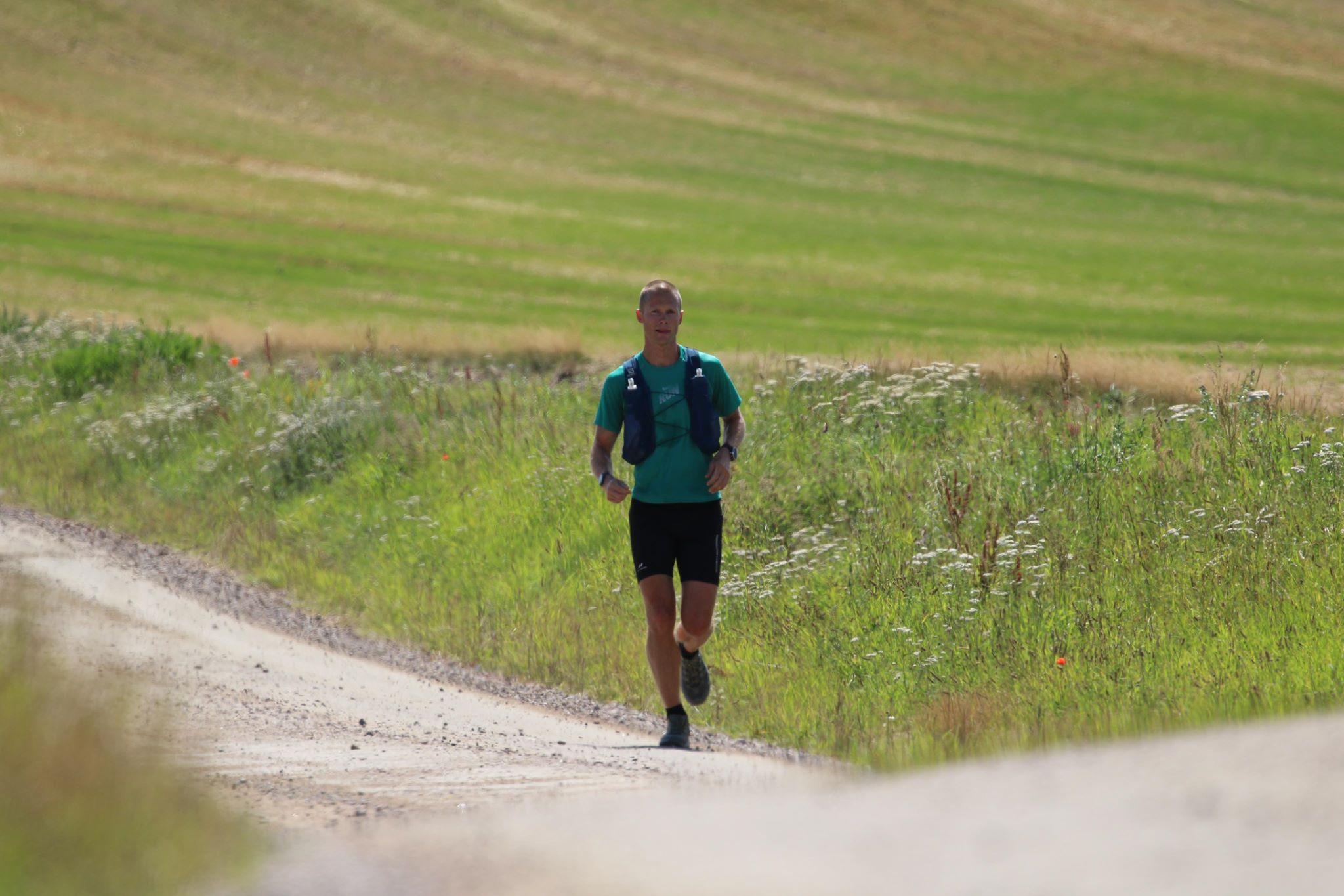 Segraren i The Gax 100 miles 2020 Magnus Rabe